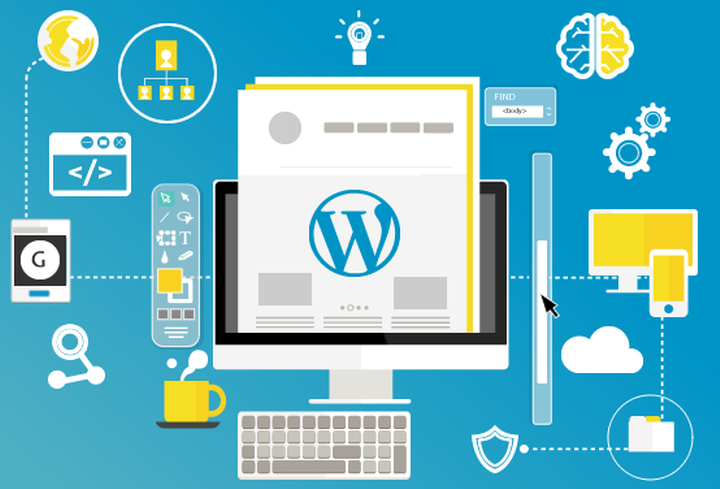 wordpress vs diseño web a medida